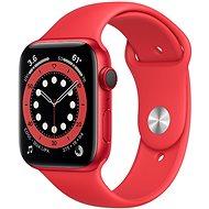 Apple Watch Series 6 40mm Cellular Red alumínium, piros sportpánttal - Okosóra