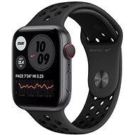 Apple Watch Nike Series 6 40mm Cellular Space Grey Aluminium antracit / fekete sportpánttal - Okosóra