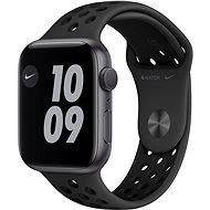 Apple Watch Nike Series 6 44 mm Asztroszürke alumínium antracit/fekete Nike sportszíjjal - Okosóra