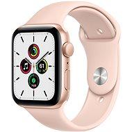 Apple Watch SE 40 mm arany alumínium, homokrózsaszín sport szíjjal - Okosóra