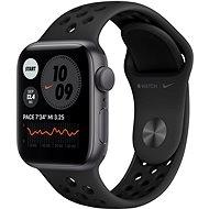 Apple Watch Nike SE 40 mm űrszürke alumínium antracit / fekete Nike sport szíjjal - Okosóra