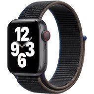 Apple Watch SE 44 mm Cellular Space fekete alumínium antracit sportszíjjal - Okosóra