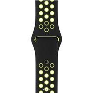 Apple Sport Szíj Nike - 42 mm Fekete / Volt - Szíj