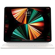 "Billentyűzet Apple Magic Keyboard iPad Pro 12.9"" 2021 fehér - HU"