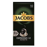 Jacobs Espresso Ristretto 10 db - Kávékapszulák