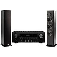 DENON DRA-800H fekete + Polk Audio T50 - Szett