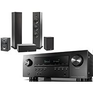 DENON AVR-S960H fekete + Polk Audio T15 + T30 + T50 - Szett