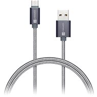 CONNECT IT Wirez Premium Metallic USB-C 1 m sötétszürke