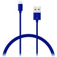 CONNECT IT Colorz Apple Lightning 1 m - kék - Adatkábel