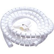Kábelrendező CONNECT IT CableFit WINDER 2.5m fehér - Organizér kabelů