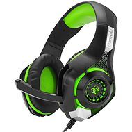 CONNECT IT CHP-4510-GR Gaming Headset BIOHAZARD zöld - Gamer fejhallgató
