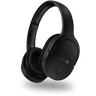 Vezeték nélküli fül-/fejhallgató CONNECT IT fejhallgató, FEKETE