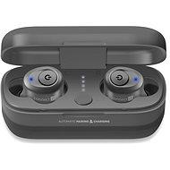 CONNECT IT True Wireless HYPER-BASS Ed. 2, ezüst - Vezeték nélküli fül-/fejhallgató