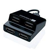 CONNECT IT CI-108 Step fekete - USB Hub