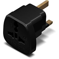CONNECT IT UK Power Adapter, fekete - Adapter utazáshoz