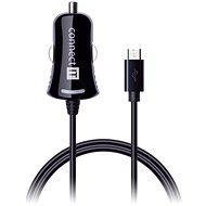 CONNECT IT InCarz töltő micro USB kábel 1,5 méter, fekete - Autós töltő