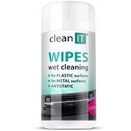 A CLEAN IT tisztító törlőkendő nedves az LCD / TFT 100 darabon - Tisztítószer
