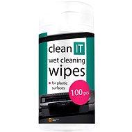 CLEAN IT nedves tisztítókendők műanyag felületre 100 db - Tisztítószer