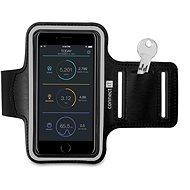 CONNECT CFF-1150-BK Mobiltelefon tok Fitness karpánttal, fekete - Mobiltelefon tok