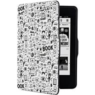 CONNECT IT CEB-1031-WH Amazon Kindle Paperwhite 1/2/3-hoz fehér/firka - E-book olvasó tok
