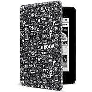 CONNECT IT CEB-1043-BK Amazon NEW Kindle Paperwhite 2018 készülékhez, fekete-firka - E-book olvasó tok