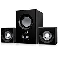 Genius SW-2.1 375 fekete - Hangszóró