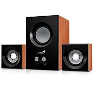 Genius SW-2.1 375 fa színű - Hangszóró