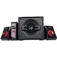 Genius GX Gaming SW-G2.1 1250 Ver. II fekete színű - Hangfal