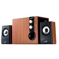 Genius SW-HF 2.1 1205 fa-színű - Hangszóró