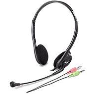 Genius HS-200C Dual Jack - Fej-/fülhallgató