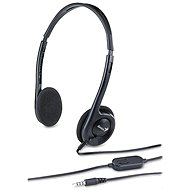 Genius HS-200C Single Jack - Mikrofonos fej-/fülhallgató