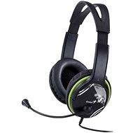 Genius HS-400A Fekete - Mikrofonos fej-/fülhallgató