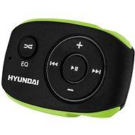 Hyundai MP 312 4GB, fekete-zöld - Mp3 lejátszó