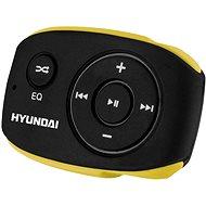 Hyundai MP 312 4GB fekete-sárga - Mp3 lejátszó
