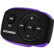 Hyundai MP-312 8GB fekete-lila - MP3 lejátszó