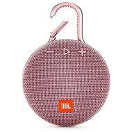 JBL Clip 3 rózsaszín - Bluetooth hangszóró