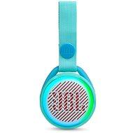JBL JR POP, kék-zöld - Bluetooth hangszóró
