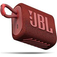 JBL GO 3 piros - Bluetooth hangszóró