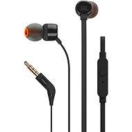 JBL T110 fekete - Mikrofonos fej-/fülhallgató