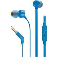 JBL T110 kék - Mikrofonos fej-/fülhallgató