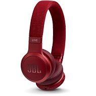JBL Live400BT piros - Vezeték nélküli fül-/fejhallgató