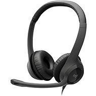 Logitech USB Headset H390 - Mikrofonos fej-/fülhallgató
