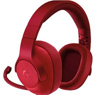 Logitech G433 Surround Sound Gaming Headset - piros - Gamer fejhallgató