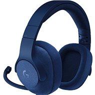 Logitech G433 Surround Sound Gaming Headset - kék - Gamer fejhallgató