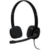 Logitech Stereo Headset H151 - Mikrofonos fej-/fülhallgató
