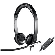 Logitech USB Headset H650e - Fej-/fülhallgató