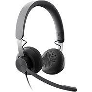 Fej-/fülhallgató Logitech Zone Wired UC