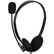 Gembird MHS-123 Fekete - Mikrofonos fej-/fülhallgató