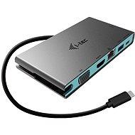 TEC USB-C Travel Dock 4K HDMI vagy VGA - Port replikátor