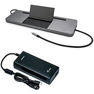 i-tec USB-C 4K 3x Display Docking Station, PD 85 W + Universal Charger 112 W